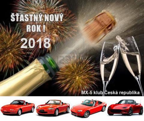 MX-5 - Novoroční přání 2018